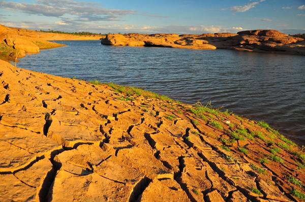 Arid land may become a common sight; credit: Tanawat Pontchour / shutterstock.com