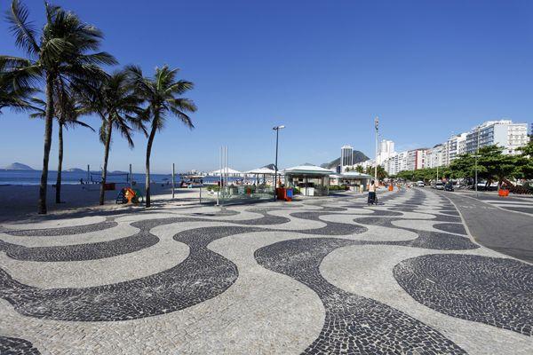 Copacabana Beach; credit: Shutterstock.com