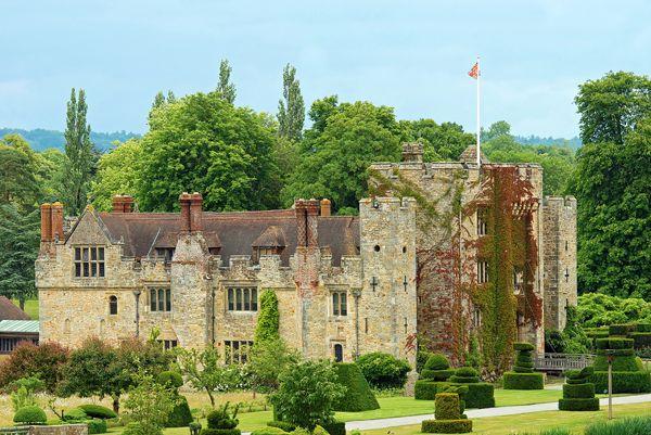Hever Castle Hever England; credit: shutterstock.com
