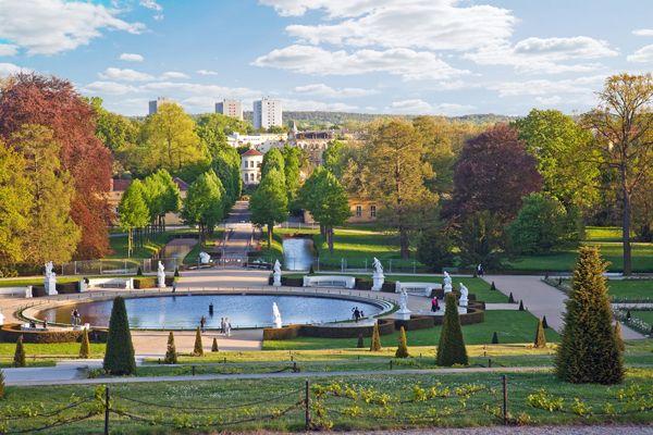 Sanssouci park; credit: shutterstock.com