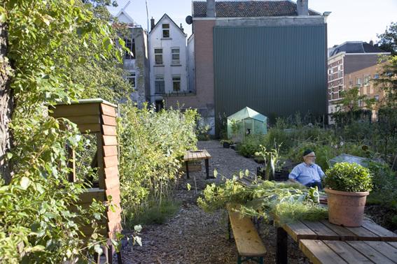The Tussentuin (the in-between garden) brings people together