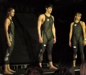 Unveiling of LZR Racer in NYC 2008-02-13 - Credit: Public Domain by Kathy Barnstorff