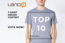TOP 10: Land8 T-Shirt Design Contest
