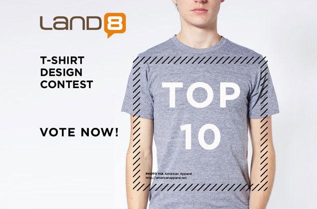 TOP 10: Land8 T-Shirt Design Contest