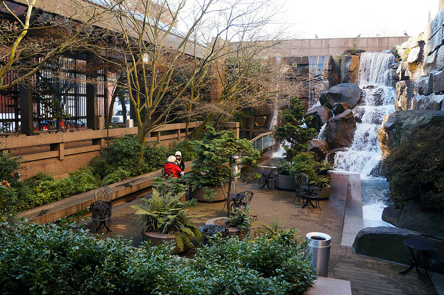 Waterfall Garden Park | Seattle, WA