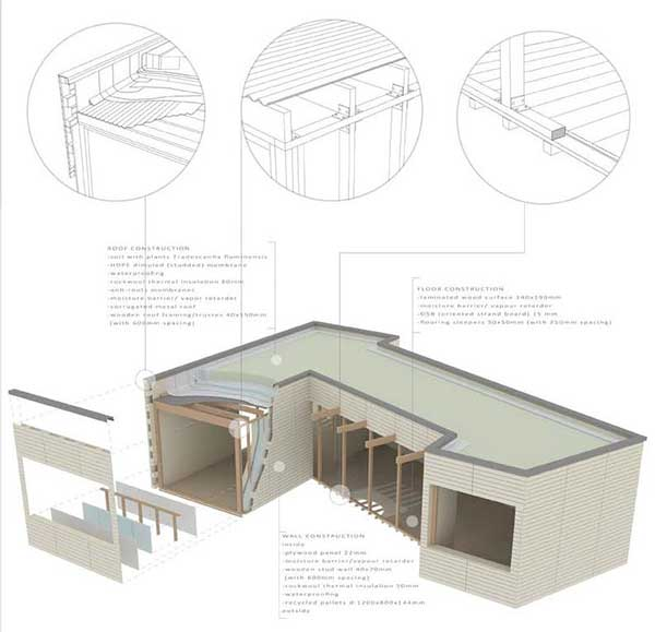 "HOME competition student shortlist.  Project titled ""The Anti-Crisis Nest"" combines functionality and sustainability."