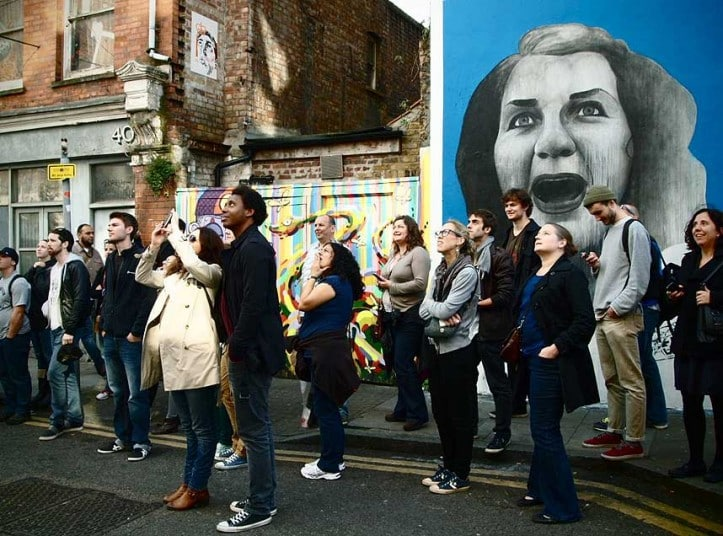UK's Street Art Boom and Walking Tours