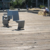 In Place: Village at False Creek: Take a Seat!