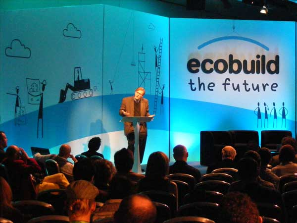 """Tim Beatley delivering his lecture on """"Biophilic Cities"""""""