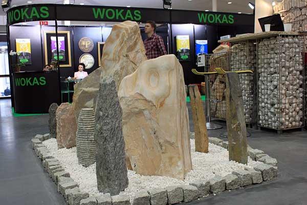 Decorative stones on display, credit: Marta Ratajszczak