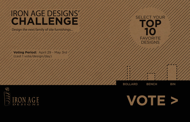 Iron Age Designs' Challenge: Voting Now Open!
