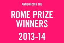 Congratulations to the Rome Prize Winners