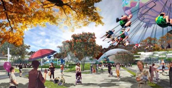 Seoul Grand Park rendering