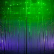 The Musical Laser Forest by Marshmallow Laser Feast