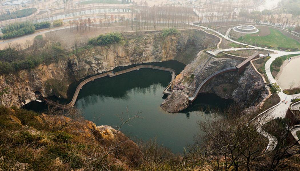 Quarry Garden 矿坑花园   Shanghai, China
