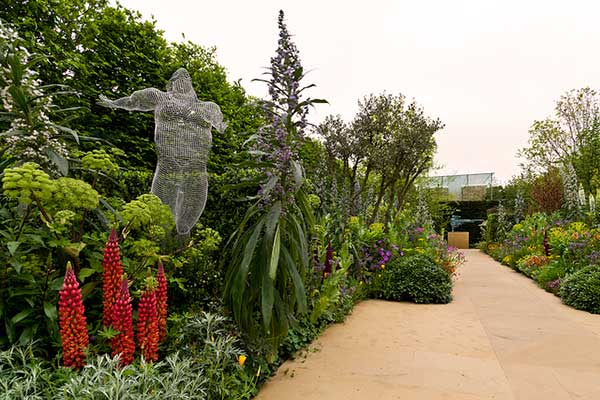 Arthritis Research UK Garden at RHS Chelsea Flower Show 2013, credit: Richard Jane