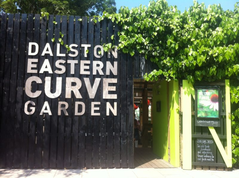 Getting lost in London: The Eastern Curve Garden