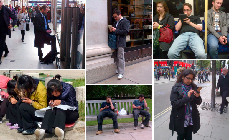 Are smartphones destroying the 'public' in our public realm?