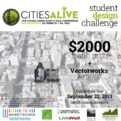 Announcing the Launch of CitiesAlive Student Design Challenge