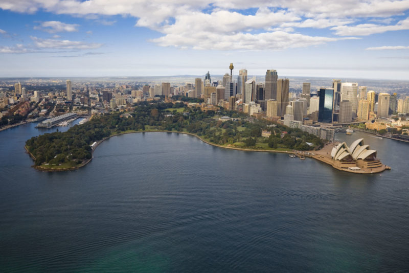 New Plans for Royal Botanic Gardens, Sydney – Designing for public space or commercial events?