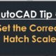 TechBeat Tuesday – AutoCAD Tip #2: Set the Correct Hatch Scale