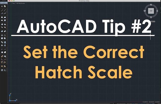 TechBeat Tuesday - AutoCAD Tip #2: Set the Correct Hatch