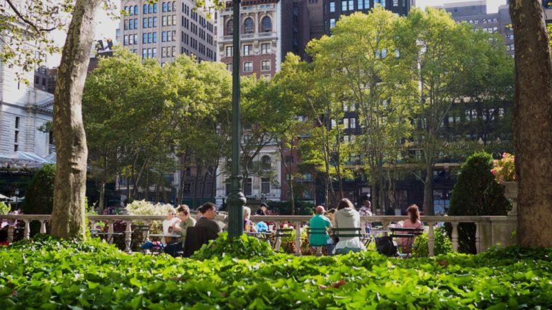 NYC Landscape Architecture Travel Series #6: Bryant Park