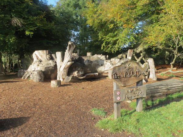 The Wildwood Den Natural Play Area at Ashridge, UK, CC2
