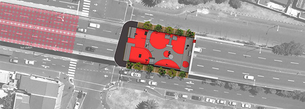 Winning Professional Design Proposed Site-Plan View