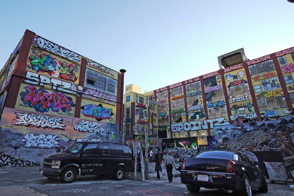 5 Pointz is a cultural landmark for hip-hop in Queens on October 4 2010; credit: Lewis Tse Pui Lung / shutterstock.com