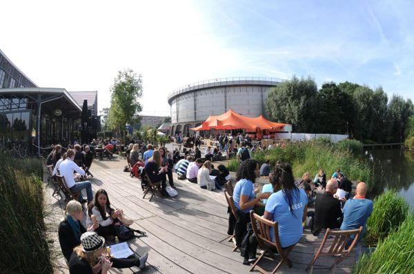 Westergasfabriek Culture Park; ; credit: photo courtesy of  Gustafson Porter