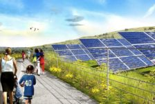 James Corner Unveils Plans to Build NYC's Largest Solar Energy Installation into Fresh Kills Park