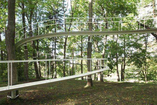 A Path in the Forest; credit: Tetsuo Kondo Architects