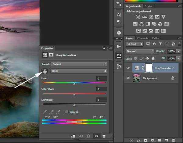 Photoshop | Using saturation