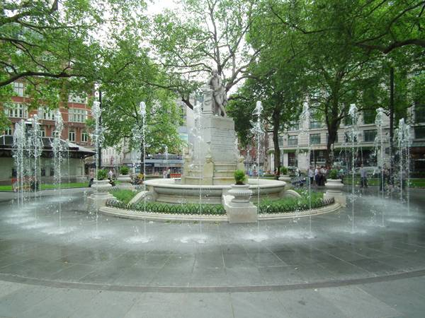 Leicester Square; image courtesy Burns + Nice
