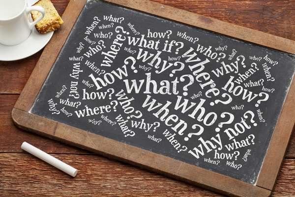 Ask questions! - Image credit: marekuliasz / shutterstock.com