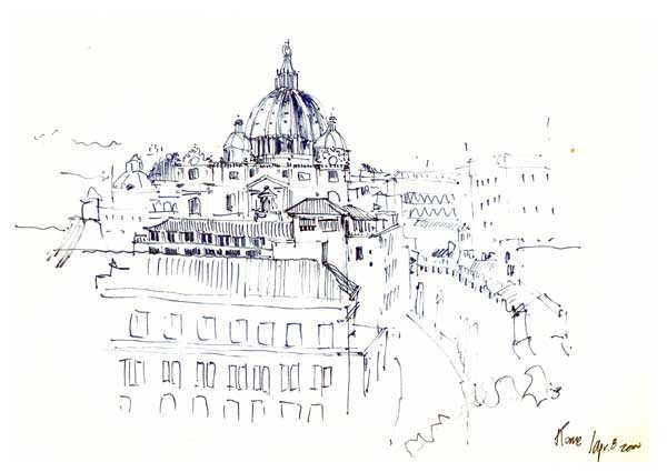 sketchy | St Peter's basilica
