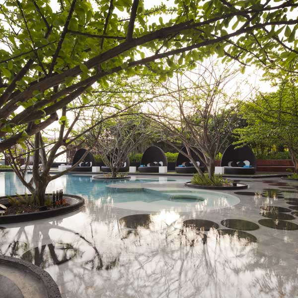 The Garden of Hilton Pattaya