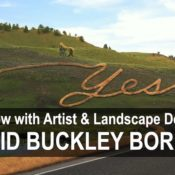 Interview with David Buckley Borden and the 'Fun-A-Day' Landscape Project