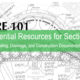 LARE 101: 10+ Essential Resources for Section 4 Grading, Drainage, and Construction Documentation