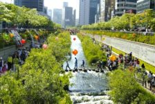 Cheonggyecheon Park Breathes Life and Greenery into the Heart of Seoul