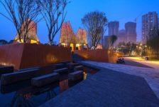 Martha Schwartz Partners' Fengming Mountain Park is Geometric Artistry in Chongqing