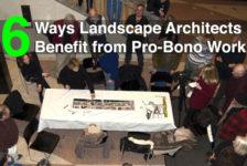 6 Ways Landscape Architects Benefit from Pro-Bono Work