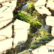 Heatherwick Studio Submerges an Oasis-Like Park Under Abu Dhabi's Cracked Desert Floor