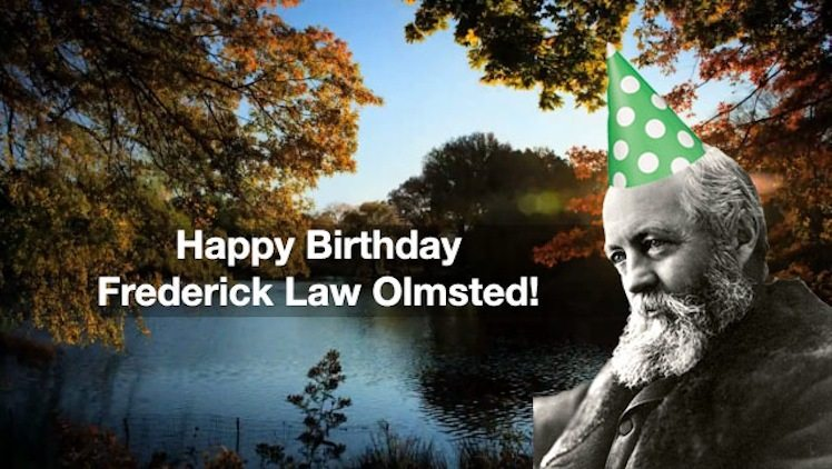 Filmtastic Fridays: Happy Birthday Frederick Law Olmsted! – Central Park Timelapse