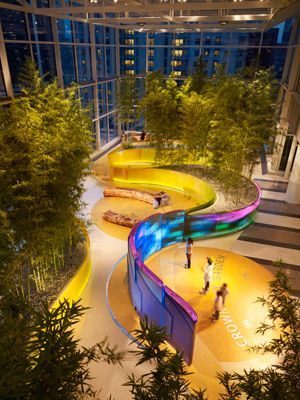 Crown Sky Garden ; credit: Mikyoung Kim Design.