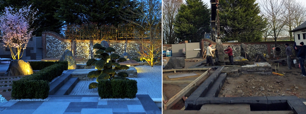 Before and After, the journey of this Japanese garden
