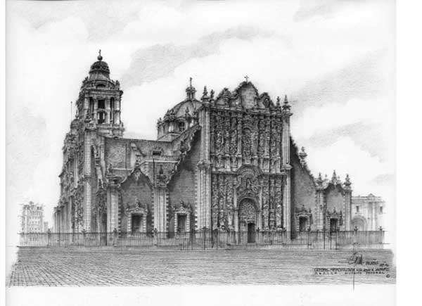 Cathedral of the City of Mexico
