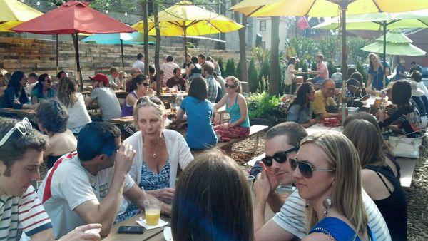 Pop Up Beer Garden; credit: Groundswell