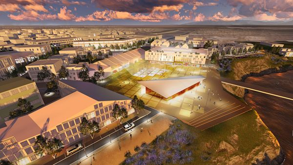 Visualization for the redevelopment of Vogabyggd, credit: Felixx